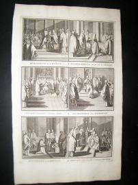 Picart C1730 Folio Antique Print. Religious Catholic 48